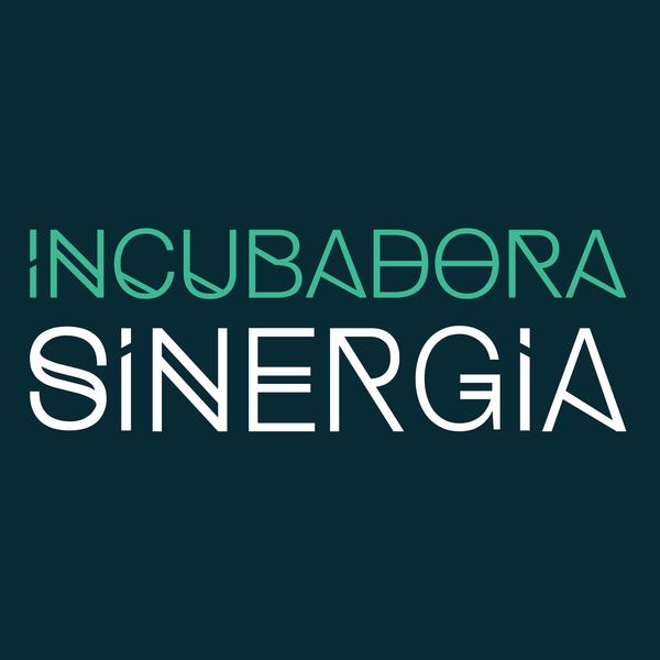 Logo incubadorasinergia square back green
