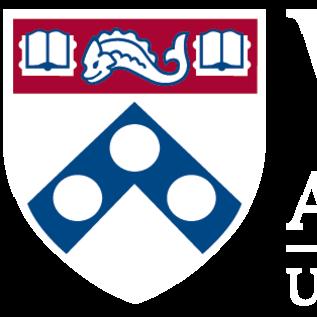 Wharton club logo white