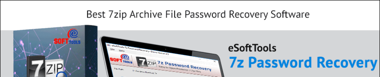 Esoft 7z archive password recovery