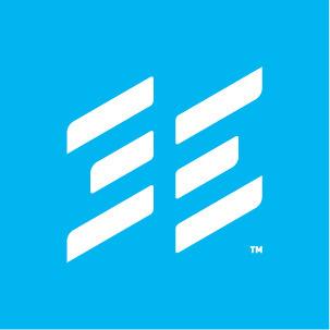 Ien symbol rgb white blue