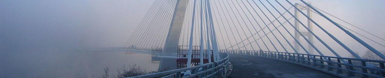 Pont de te cc 81re cc 81nez vue ouest brume