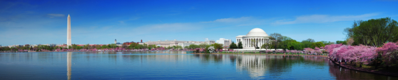 Dc skyline panorama