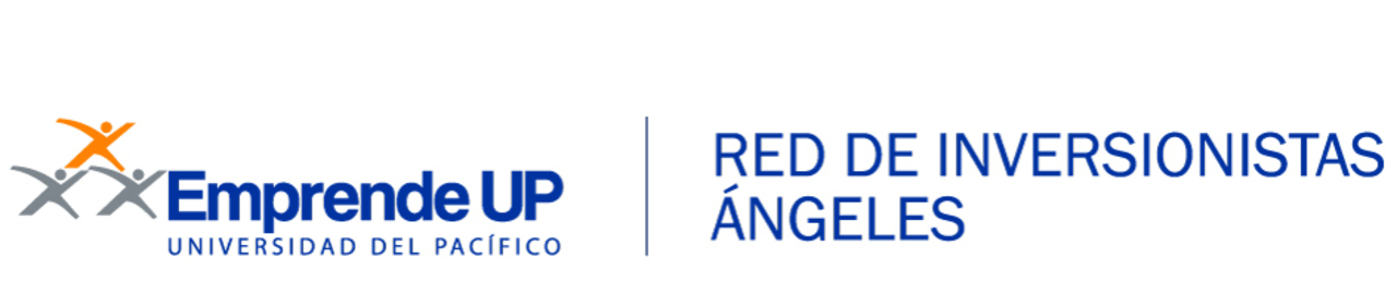 Logo inversionistas angel digital azul