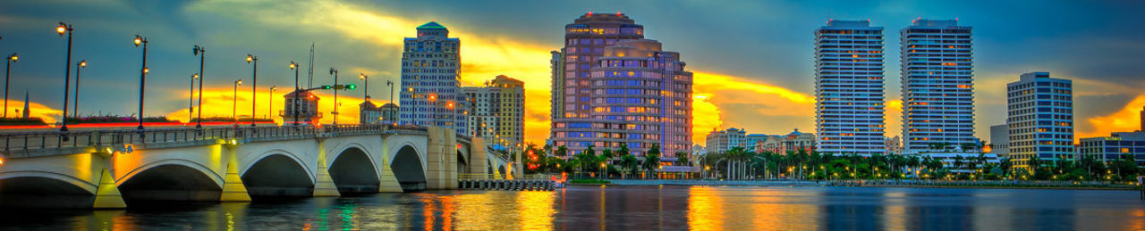 Downtown west palm beach florida