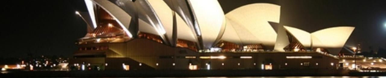 Night of sydney opera house