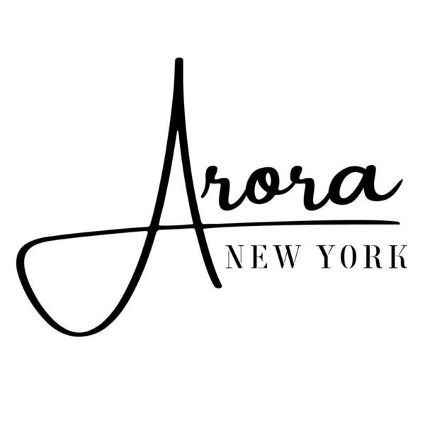 Arora 20new 20york 20logo