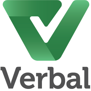 Verbal logo stacked