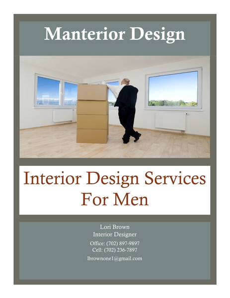 Manterior Design Interior Design Services For Men