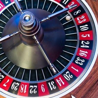 Roulette roulette wheel ball turn