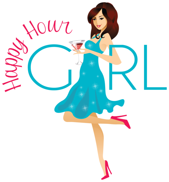 hot girl happy hour