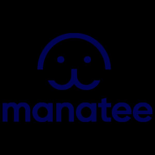 Manatee big darkblue 20logo
