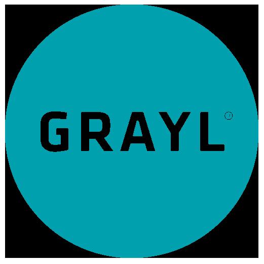 Grayl logo teal circle