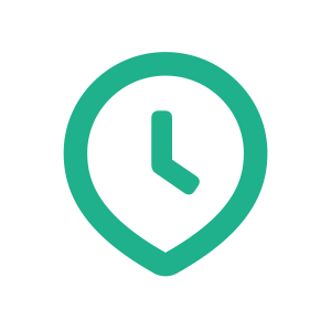 Clockpin green