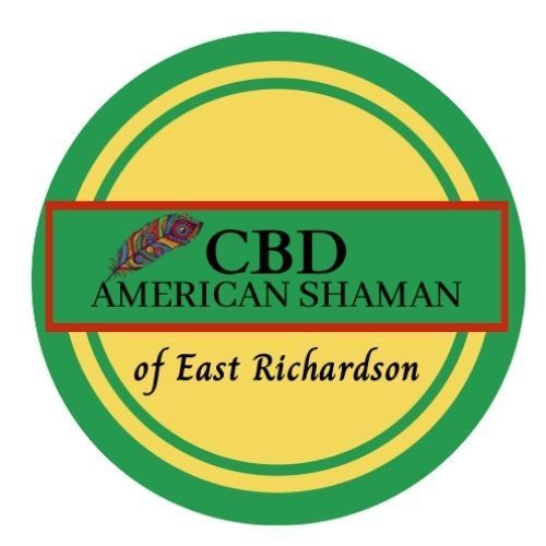 Cbd 20american 20shaman 20of 20east 20richardson 20logo