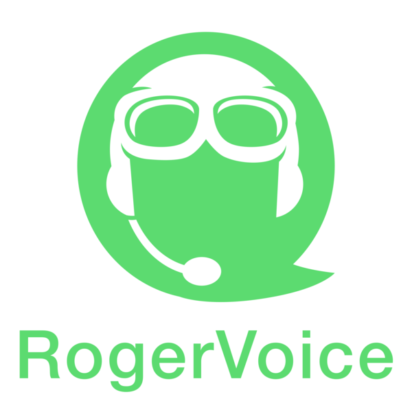Rogervoice logo surfgreen whitebkg lrg
