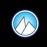 White glacier brandmark