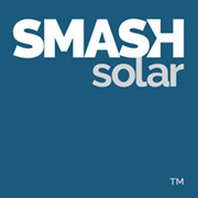 Smash 20logo square on 20blue 180x180