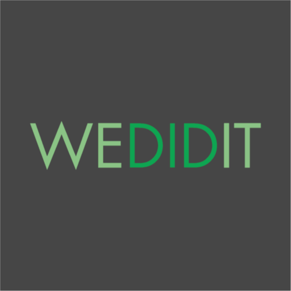 Wedidit 20logo 20 dark 20grey 20background