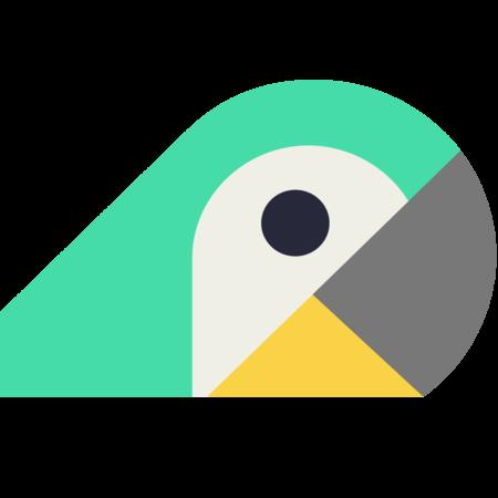 Fluencr logo bird