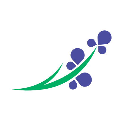 Hyasynth logo swoosh whitecircle