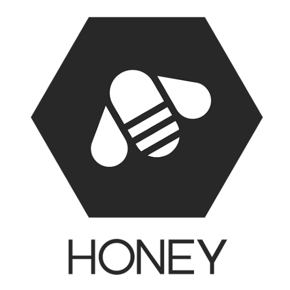Honey logo white bg