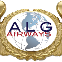 Alg airways wings gold emblem transparent