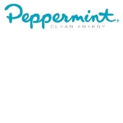Peppermint logo tag cmyk