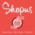 Micro logo shopus fond rouge 01 20  20679 600