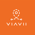 Micro viavii logo 20white 20background 20orange