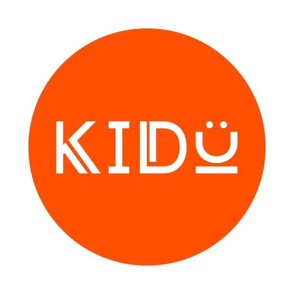 Kidu logo orange whitebackground