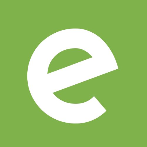 Ecobot e square on green
