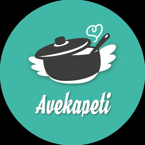Logo avekapeti 20cm