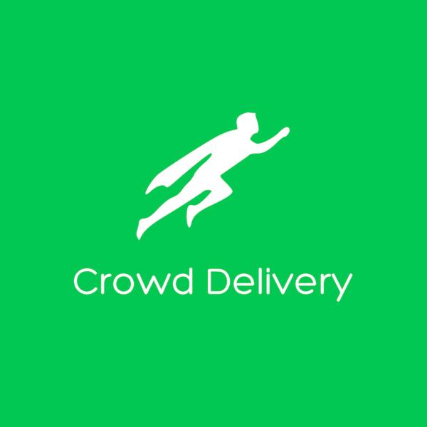 Green background logo large