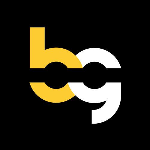 Beatgig logo blackbg centered