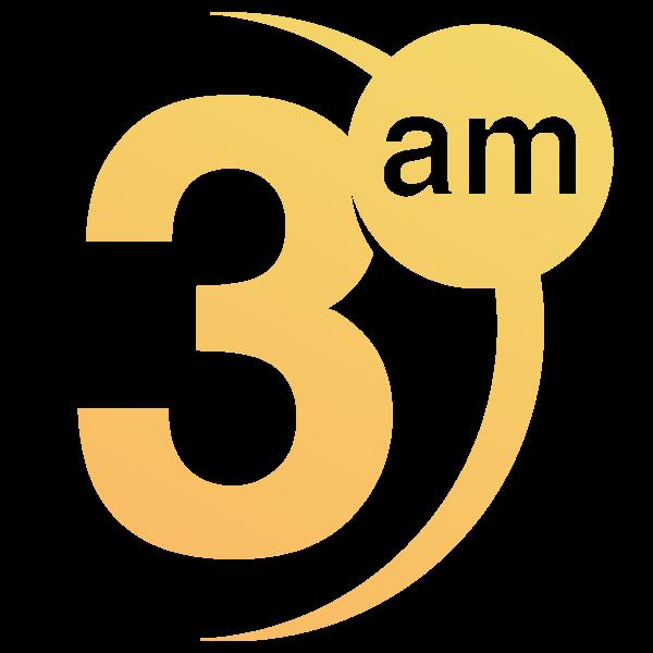 3am logo grad