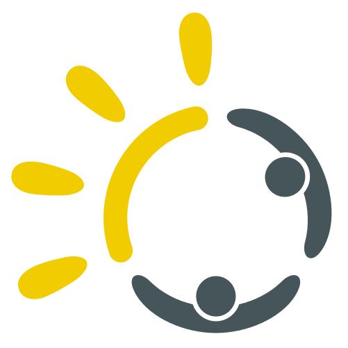 Sunshare logo seul grisjaune