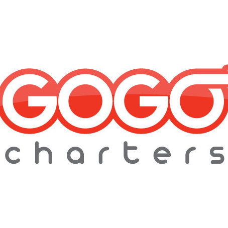 Logo gogo charters red