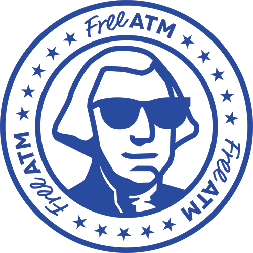 Freeatm logo seal
