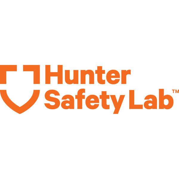 Hunter safety lab logo orange