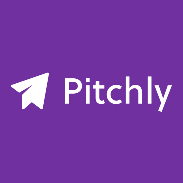 Pitchly 20logo 20purple 20background 20in 20box