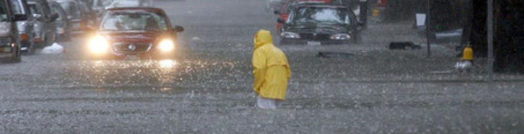 Large flood