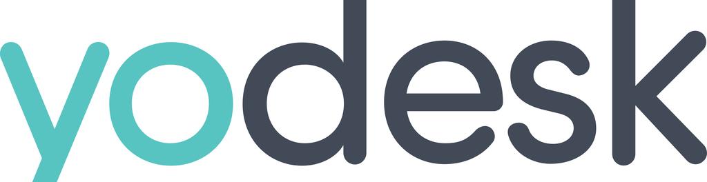 Yodesk logo vector high res web