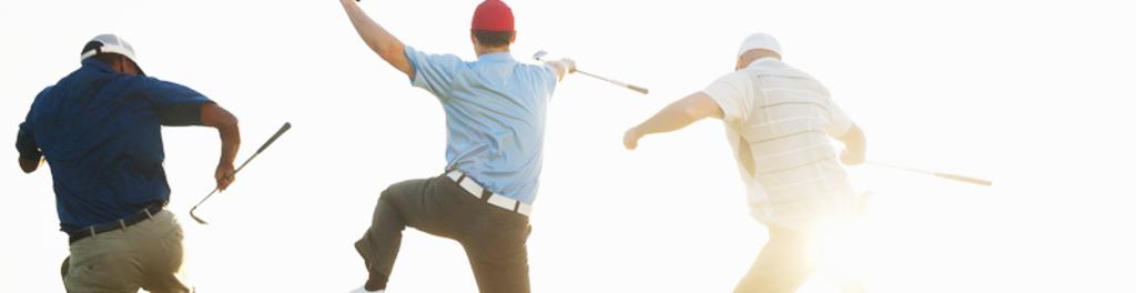 Happy golf targets abc