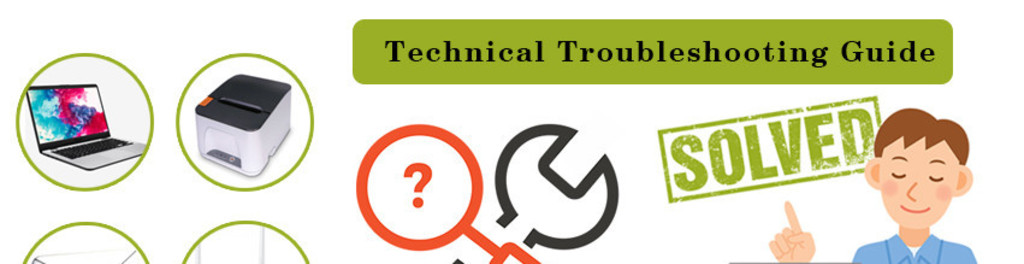 Technical troubleshooting guide cover