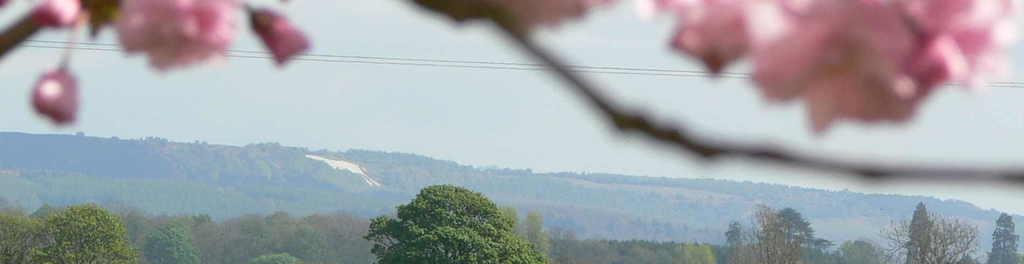 The white horse of kilburn hambleton hills