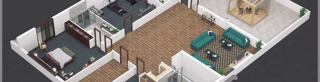 First floor 20australian 20style 203d 20rendered