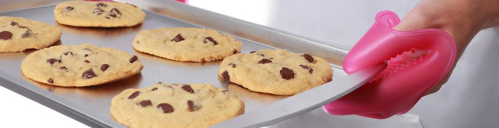 Fingermitt cookies fuchsia
