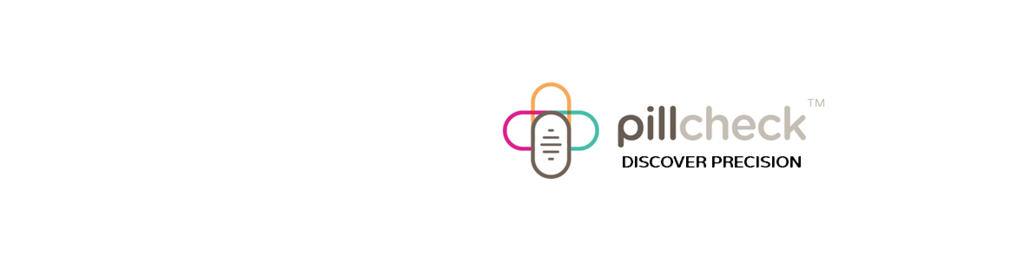 Pillcheck logo with tagline gust
