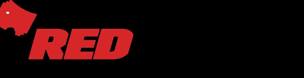 Redshred logo tagline