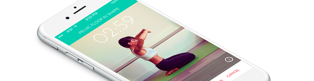 Bwom iphone personalized exercises for your pelvic floor